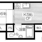 亀有第10ウィーンハイツ(2K)(間取)