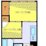 カルミーナマンション(2K)(間取)