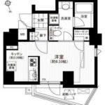 グランステューディオ市ヶ谷薬王寺Ⅰ(1K)(間取)