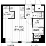 新中野駅上プラザ(1R)(間取)